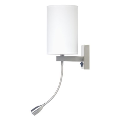Comfort Inn and Suites Truly Yours Single Wall Lamp with LED Reading Light